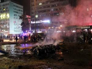 Đánh bom đẫm máu ở thủ đô Thổ Nhĩ Kỳ, 34 người chết