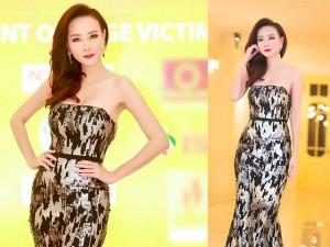 Dương Yến Ngọc diện váy sequin lộng lẫy khoe đường cong