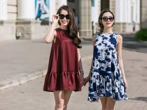 Thời trang - Nam Em, Hà Thu mặc đồ bình dân vẫn xinh