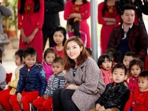 Kỳ Duyên quyên 240 triệu xây phòng học ở Tuyên Quang