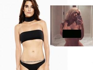 """Thời trang - Bikini đen """"cháy hàng"""" nhờ ảnh gợi cảm của Kim Kardashian"""