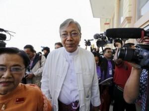 Tài xế cũ của bà Suu Kyi thành Tổng thống Myanmar