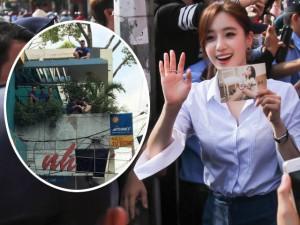 Ca nhạc - MTV - Fan Việt trèo cây, leo nóc nhà ngắm T-ara