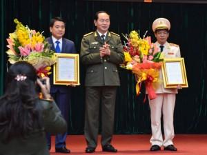 Tin tức trong ngày - Trợ lý Bộ trưởng Công an nhậm chức Giám đốc Công an Hà Nội