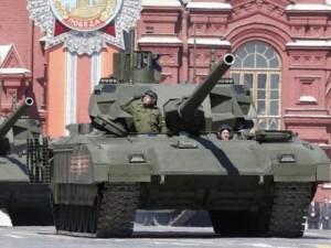 Quân sự - Nga sản xuất hàng loạt xe tăng hủy diệt Armata T-14