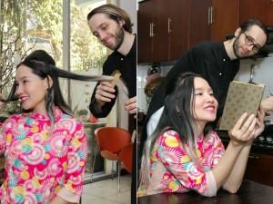 Cuộc sống hạnh phúc của Mai Khôi bên chồng Tây