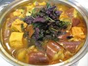 Ẩm thực - Bữa trưa ngon miệng với cà tím bung thịt, đậu nóng hổi