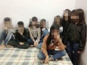An ninh Xã hội - Công an làm rõ vụ 9 học sinh 14 tuổi thuê 1 phòng nghỉ
