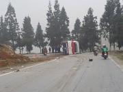 Video An ninh - Lời khai tài xế vụ lật xe khách ở Sa pa