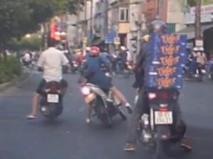 An ninh Xã hội - Bắt nóng đôi nam nữ cướp giật nhờ camera hành trình