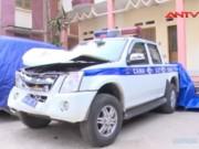 Video An ninh - Lâm tặc phi tang gỗ, lắp biển giả, phá xe CSGT