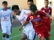 """Bóng đá - Tuyển thủ U23 Việt Nam """"bất lực"""" ở giải U19 Quốc gia"""