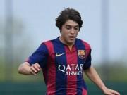 Bóng đá - Đàn em lò Barca solo qua 5 người ghi bàn hệt Messi