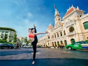 Phương Trinh Jolie khoe dáng trong bộ ảnh yoga ấn tượng