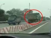 Tin tức trong ngày - Xác minh chủ xe tải đi ngược chiều trên Quốc lộ 1A