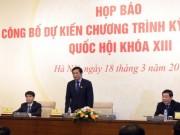 Tin tức trong ngày - Bầu Chủ tịch nước, Thủ tướng, Chủ tịch QH đầu tháng 4