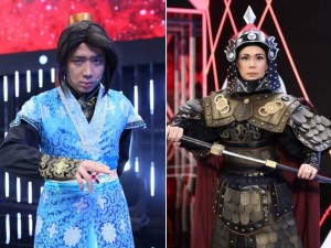 Việt Hương, Trấn Thành nói mỉa nhau trên sân khấu