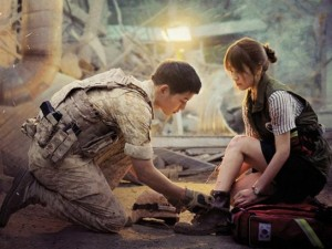 Phim - Song Hye Kyo bối rối vì nói lời yêu Song Joong Ki