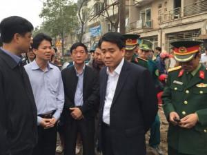 Chủ tịch HN yêu cầu nhanh chóng điều tra nguyên nhân vụ nổ ở Văn Phú