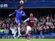 """Bóng đá - Siêu phẩm khiến 5 cầu thủ Chelsea """"ngơ ngác"""""""
