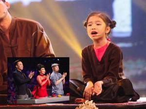 """Việt Hương, Trấn Thành """"nghiêng mình"""" vì cô bé hát xẩm"""
