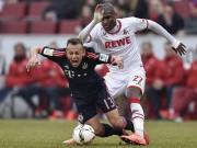 Bóng đá Đức - Cologne - Bayern: Suýt có biến