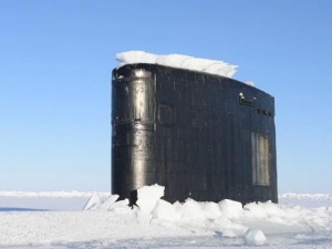 Thế giới - Video: Tàu ngầm hạt nhân Mỹ bất ngờ đội băng chui lên