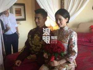 Những hình ảnh đầu tiên tại lễ cưới Lưu Thi Thi
