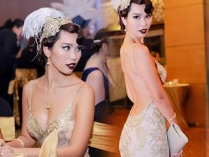 Thời trang - Hà Anh hóa quý cô cổ điển kiêu sa, gợi cảm