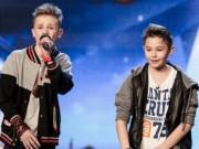 Bạn trẻ - Cuộc sống - Hai cậu bé hát rap chấn động Britain's Got Talent