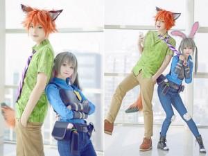 """Bạn trẻ - Cuộc sống - Cặp đôi cosplay thành thỏ và cáo """"gây sốt"""" mạng thế giới"""