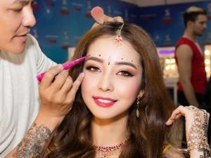 Bóc  bí kíp hóa cô dâu 8 tuổi của Jennifer Phạm