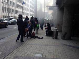 Thế giới - Tràng la hét bằng tiếng Ả Rập trước vụ đánh bom kép ở Bỉ