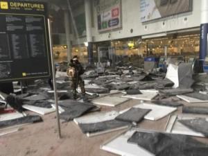 Thế giới - Nhân chứng vụ khủng bố ở Bỉ: Không khác gì tận thế