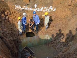 Tin tức trong ngày - Đường ống nước sông Đà số 2: Công ty Trung Quốc trúng thầu