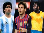 Bóng đá - Messi đọ huyền thoại: Hơn Maradona, vẫn kém Pele (P1)