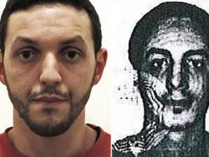 Thế giới - Hình ảnh 2 kẻ tình nghi đánh bom khủng bố ở Bỉ