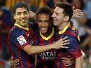 """Bóng đá - Bộ ba Messi–Suarez–Neymar """"bách chiến thần thánh"""""""