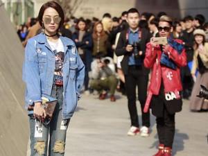 """Thời trang - Minh Hằng được """"săn đón"""" ở tuần lễ thời trang Seoul"""