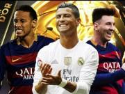 Bóng đá - Tiết lộ: Gạt thù hận, Ronaldo bầu Neymar giành QBV