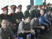 An ninh Xã hội - Gần 100 cảnh sát bảo vệ phiên tòa xử giang hồ Phú Quốc