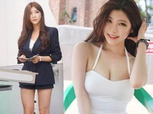 """Bạn trẻ - Cuộc sống - Ngẩn ngơ vẻ đẹp của nữ giảng viên """"nóng"""" nhất Hàn Quốc"""