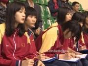 """Thể thao - Dàn """"chân dài"""" đặc biệt cổ vũ bóng chuyền nữ VTV"""