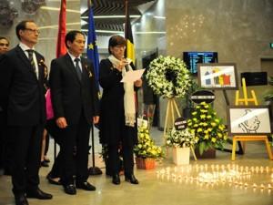 """Đại sứ Bỉ tại VN: """"Chúng tôi sẽ không đầu hàng trước khủng bố"""""""