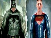 Bóng đá - Messi, Ronaldo hóa thân thành Superman và Batman