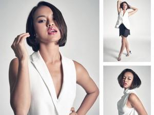 """Quỳnh Mai """"siêu vòng 3"""": """"Tóc ngắn làm tôi xui xẻo"""""""