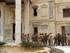 Syria thắng lớn, sắp đánh bật IS khỏi thành cổ Palmyra
