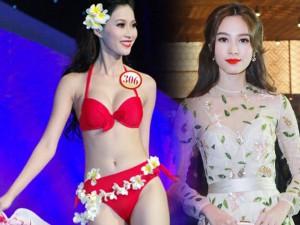 Thời trang - Những khung hình gợi cảm hiếm có của hoa hậu Thu Thảo