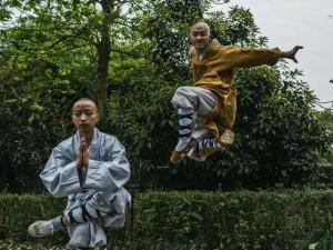 Thế giới - Cảnh luyện võ gian truân trong chùa Thiếu Lâm ở TQ