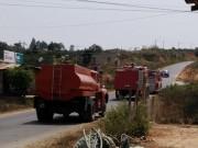 Tin tức trong ngày - Xe cứu hỏa tiếp nước sinh hoạt khẩn cấp cho vùng bị hạn